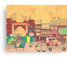 Ahmedabad Amdavad - Postcard from India Canvas Print