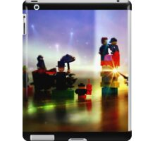 Batman and Robin Battle Penguin's Gang iPad Case/Skin