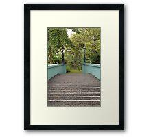 Ninoy Aquino Park and Wildlife Nature Center bridge Framed Print