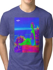 The Aliens are Coming Tri-blend T-Shirt