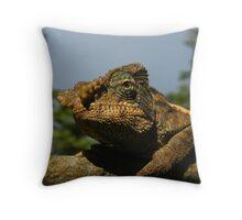 Living Dinosaur Throw Pillow