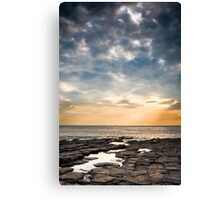Beautiful Sunset at Nash Point Canvas Print