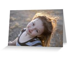 Posed & Ready Greeting Card