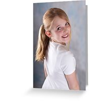 A smile for Mum! Greeting Card