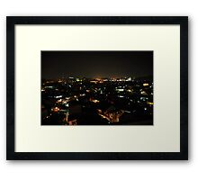 slum area Framed Print