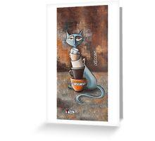 Cattuccino Greeting Card