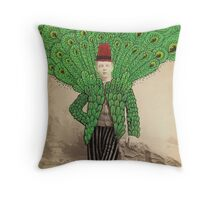 Popinjay Throw Pillow