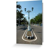 road light Greeting Card