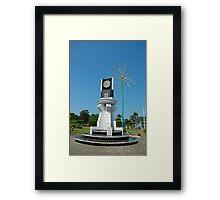 city monument Framed Print