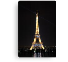 effiel tower Canvas Print