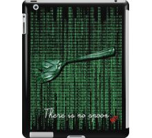 There is no spoon by neo iPad Case/Skin