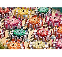 Colorful Luncheon Photographic Print
