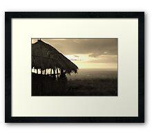 Chingwe's Hole, Zomba, Malawi Framed Print