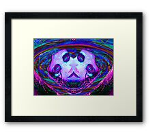 MASK of CHAOS Framed Print