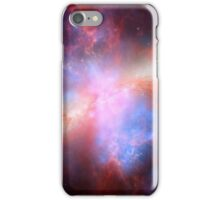 Galaxy and stars space nebula photograph hipster blue and pink print iPhone Case/Skin