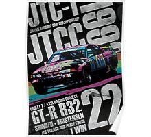JTCC Legends - Axia GT-R R32 Poster