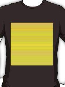 Yellow-Orange Stripes T-Shirt