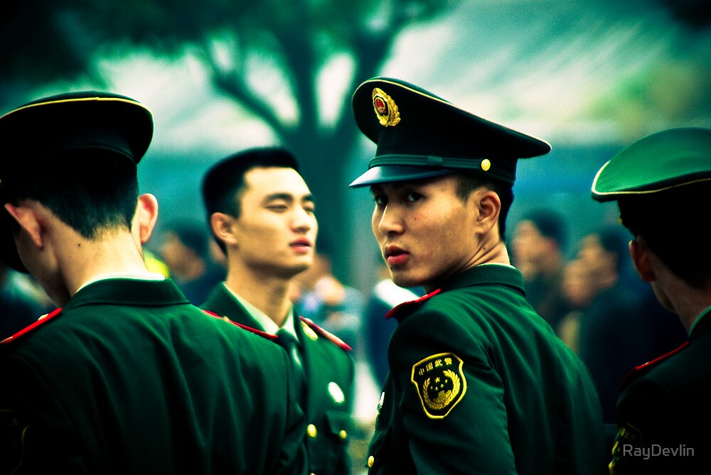 Chinese Military by RayDevlin