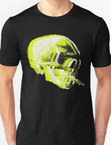 Van Gogh Skull with burning cigarette remixed x T-Shirt