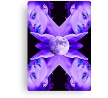 SELENE MOON GODDESS Canvas Print