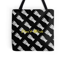 DW Weeping Angels - DON'T BLINK Tote Bag