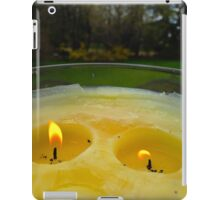 by candlelight iPad Case/Skin