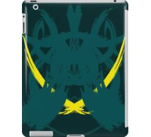 Rorschach Green iPad Case/Skin