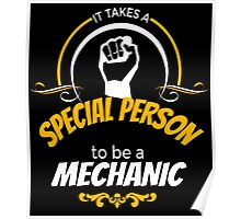 IT TAKES A SPECIAL PERSON TO BE A MECHANIC Poster