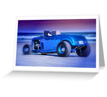 Cool cruiser, cooler dude. Greeting Card