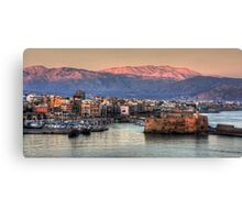 Heraklion Sunrise Canvas Print