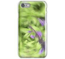 Garden bliss salvia iPhone Case/Skin