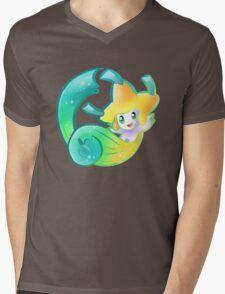 Starry Jirachi Mens V-Neck T-Shirt