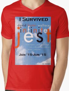 Infinite Jest-Survivor Shirt  Mens V-Neck T-Shirt