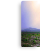 Misty Mount Cooke  Canvas Print