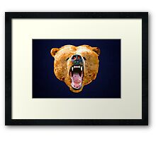 Poly Bear Framed Print