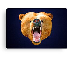 Poly Bear Canvas Print