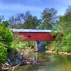Houck Covered Bridge - Reelsville, IN by David Owens