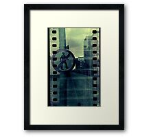 Don't Walk Framed Print