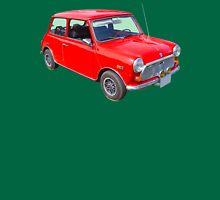 Red Mini Cooper Antique Car Unisex T-Shirt
