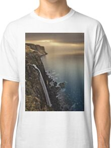 Waterfall Isle of Skye Scotland Classic T-Shirt