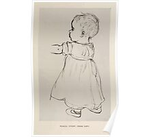 Kate Greenaway Collection 1905 0553 Pencil Study from Life Poster