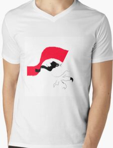 6 Mens V-Neck T-Shirt