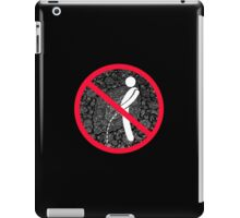 do not pee on the Dude's rug iPad Case/Skin