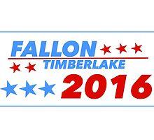 Fallon/Timberlake 2016 by Jack Rinderknecht