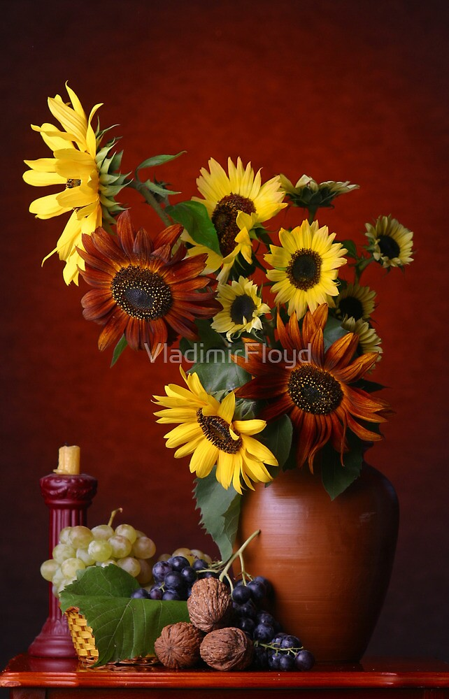 Sunflowers by VladimirFloyd