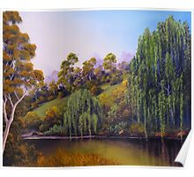 Weeping Willow Creek Poster