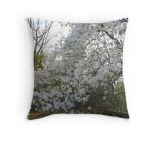 Bountiful Blossoms of Spring Throw Pillow