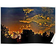 Sunset in Denver Poster