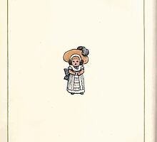 Under the Window Pictures and Rhymes for Children Edmund Evans and Kate Greenaway 1878 0006 A Wee Little Girl by wetdryvac