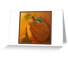 Morther Of Peru Greeting Card
